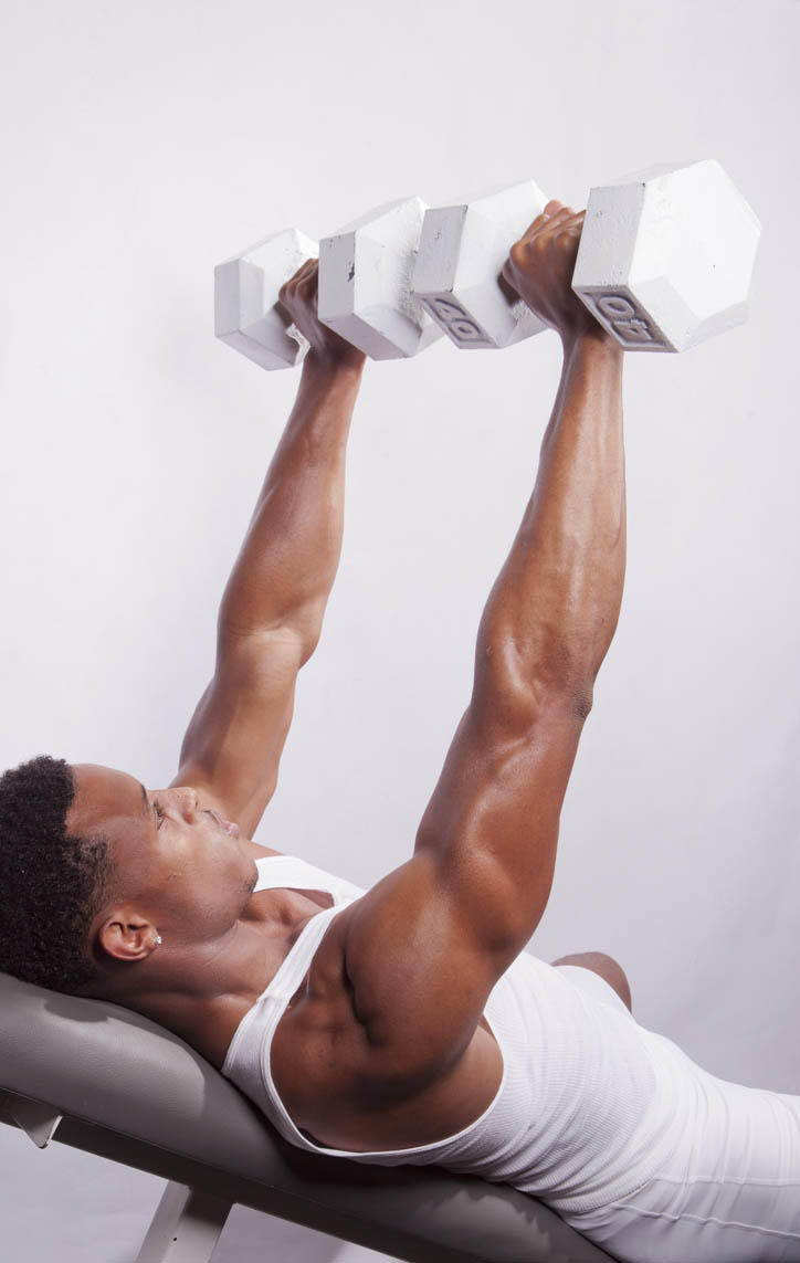 Bench Press - Dumbbell, Incline