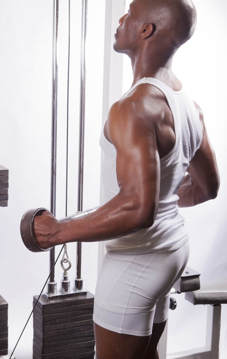 Bicep Cable Curls - Neutral Grip