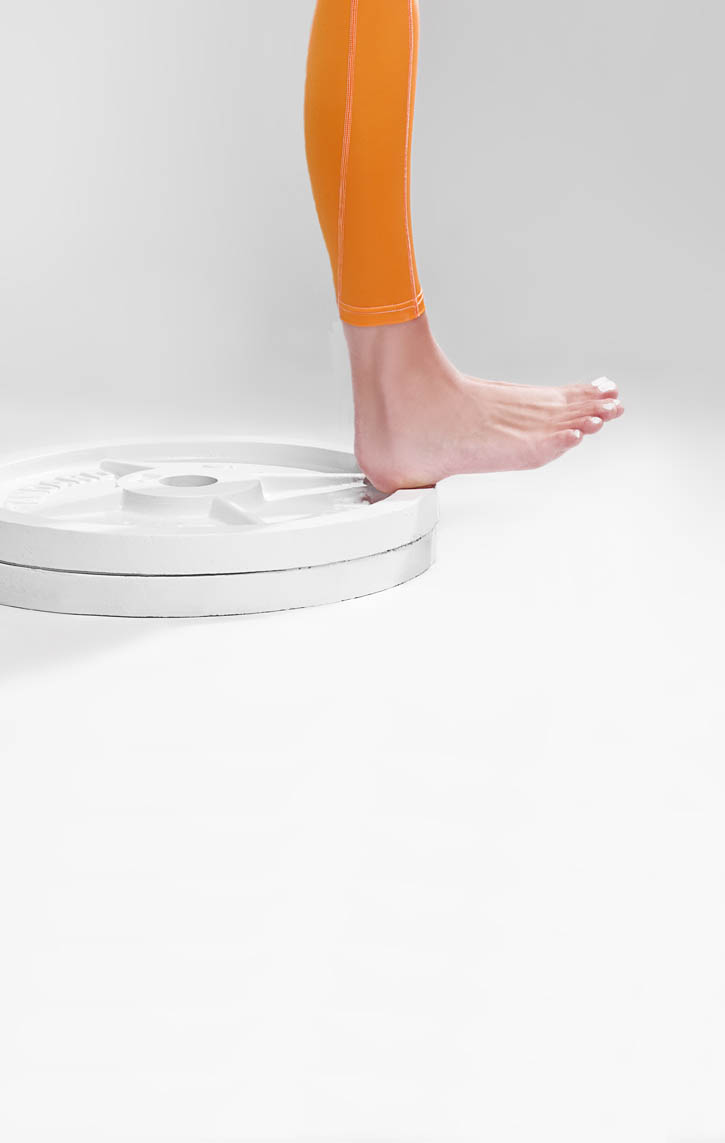 Decline One-Leg Toe Raises