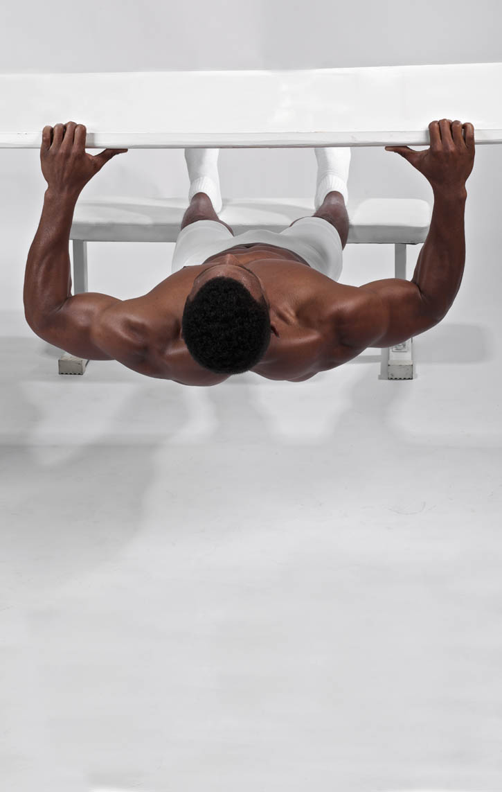Declined Bodyweight Rows