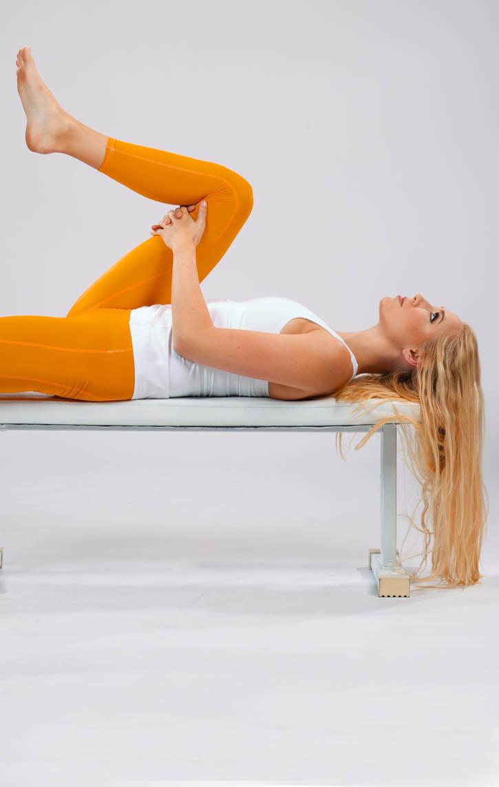 Lying Hip Flexor Stretch | BodBot