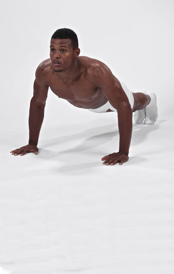 Plank with Straight Arms