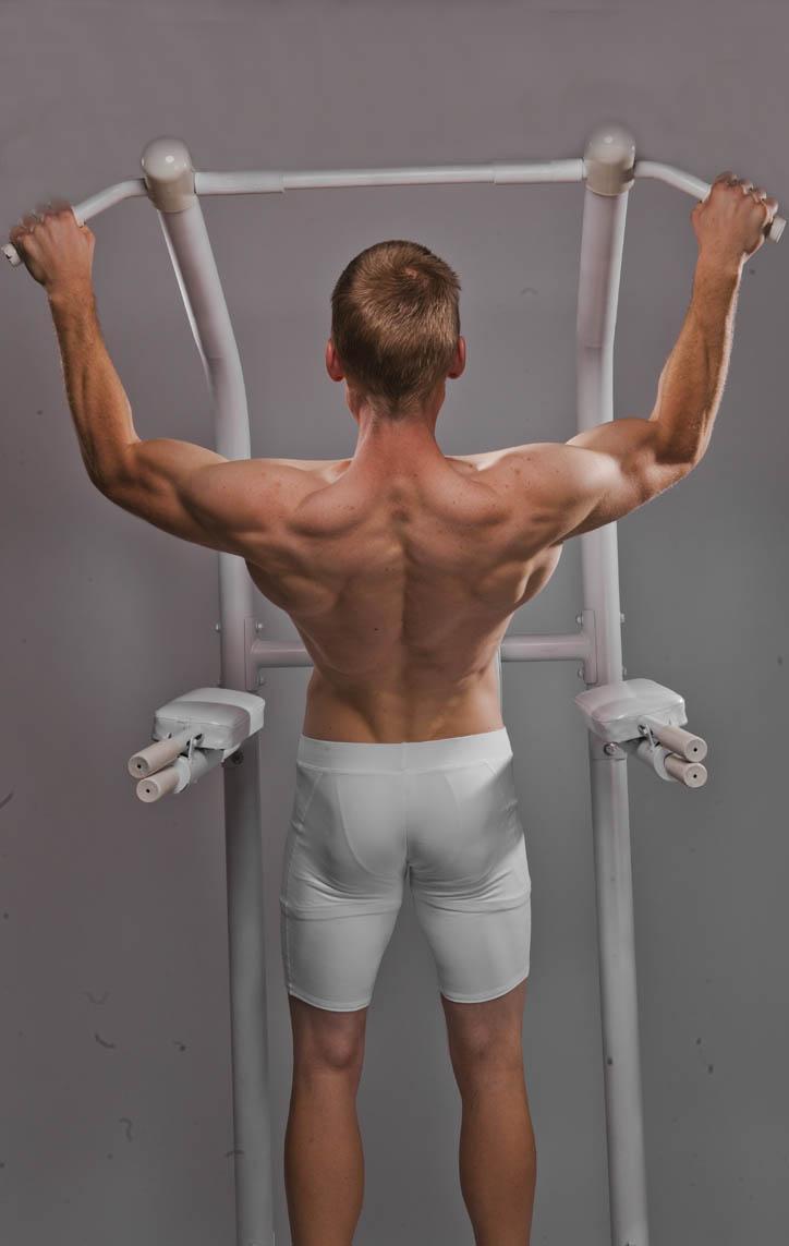 Pull Ups - Wide-Overhand-Grip | BodBot