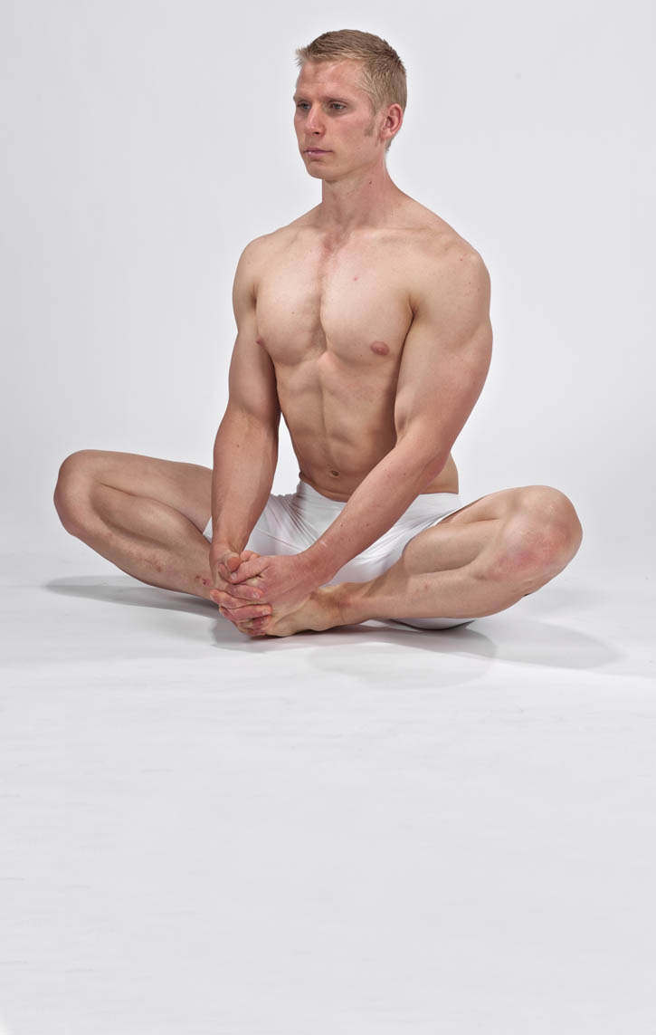 Seated Groin Stretch