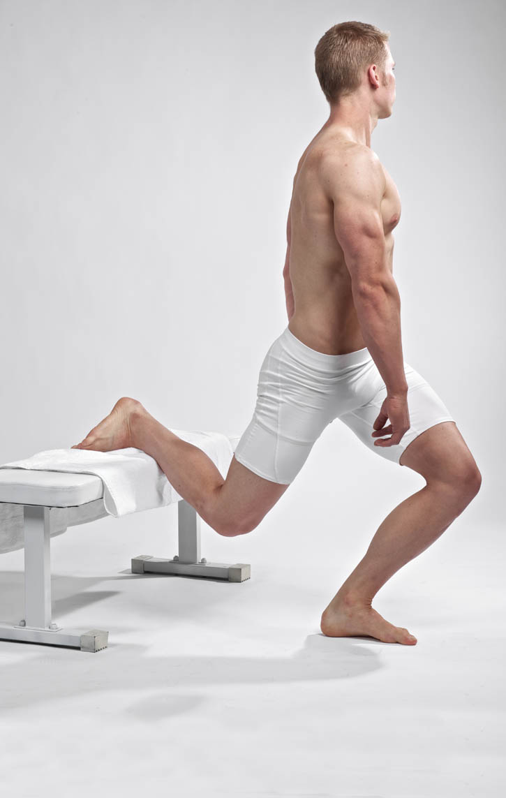 Standing Hip Internal Rotation Stretch