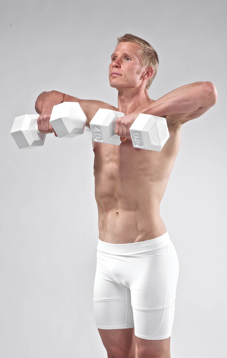 Upright Rows - Dumbbells | BodBot