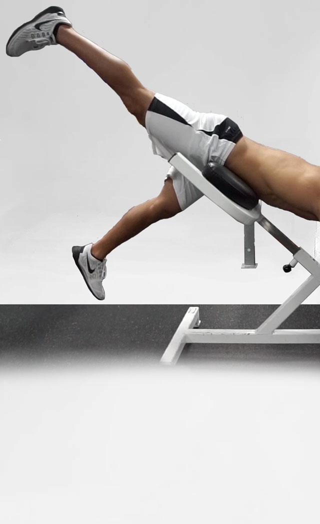 Reverse Hyper Extensions - One Leg