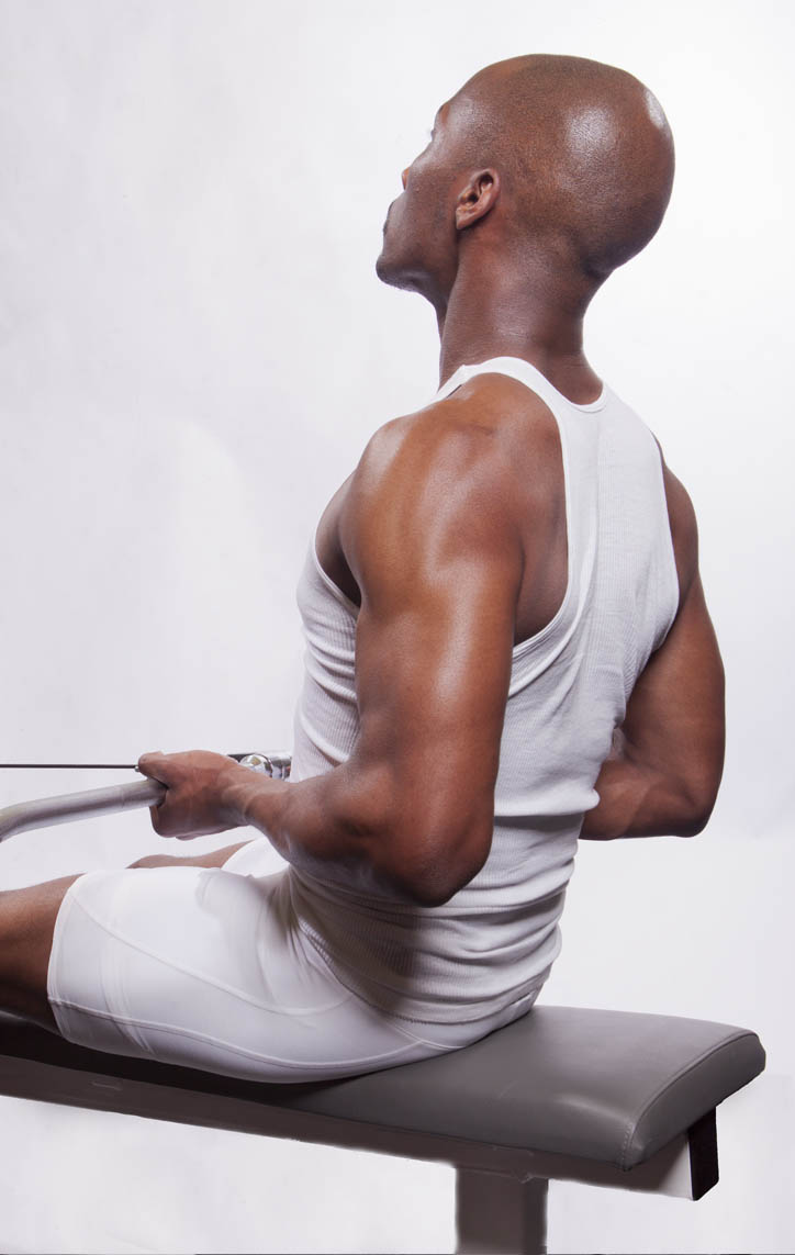 Cable Row - Seated, Narrow-Underhand-Grip | BodBot
