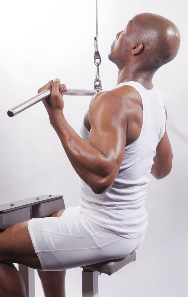Wide Grip Underhand Cable Pulldown Down - Wide-Underhand-GripWide Grip Underhand Cable Pulldown
