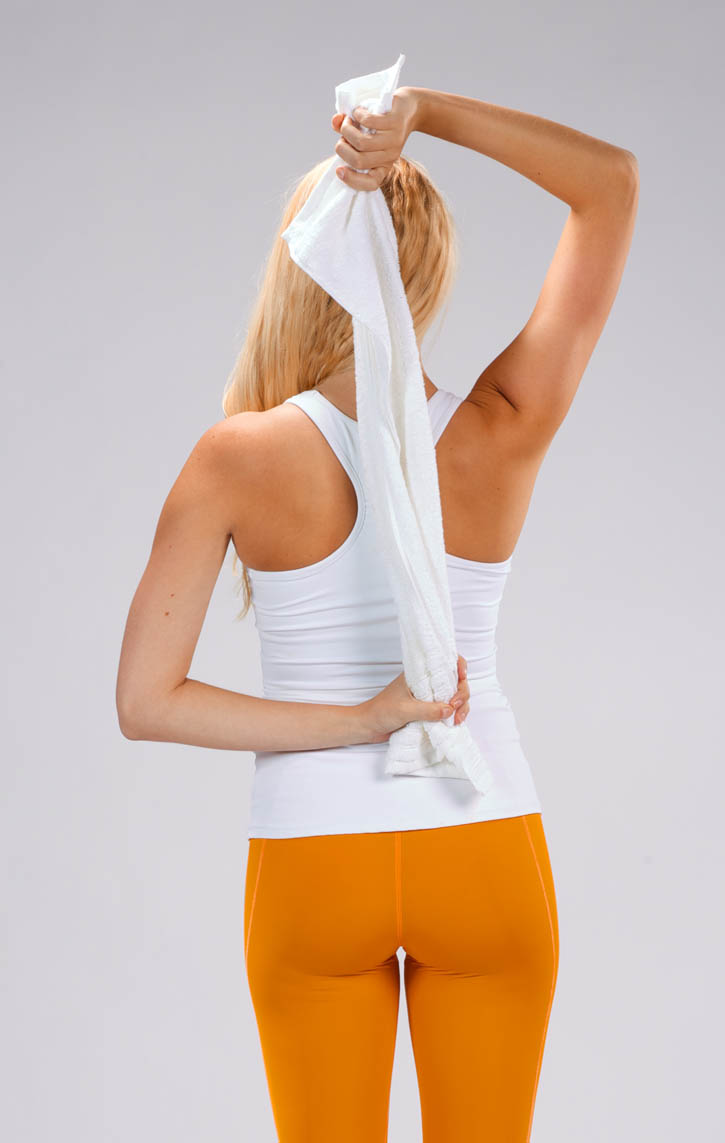 Shoulder Stretch with Towel | BodBot
